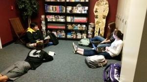 literary circle time