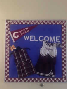 Check out the cool boards that Tiffany and Hannah created for our new parents.