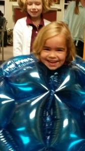 Cute Caroline gone blueberry.