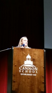 Our new President Carrie knocks her first community meeting out of the park!