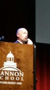 Mr. Booker speaks highly of our school leaders